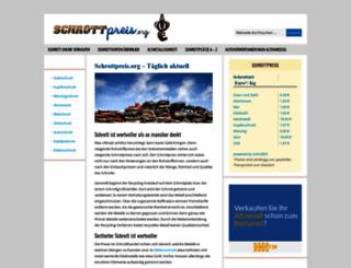 schrottpreis.org screenshot