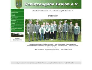 schuetzengilde-breloh.de screenshot