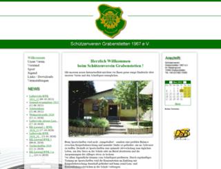 schuetzenverein-grabenstetten.de screenshot