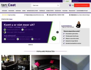schuimrubber.nl screenshot