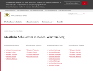 schulaemter-bw.de screenshot