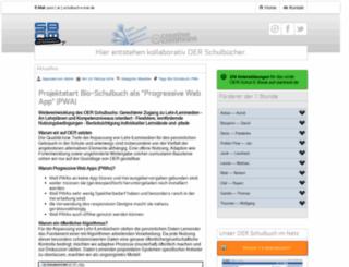 schulbuch-o-mat.de screenshot