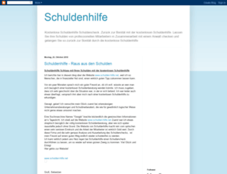 schulden-check.blogspot.com screenshot