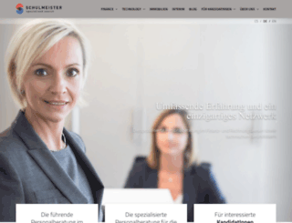 schulmeister-consulting.at screenshot