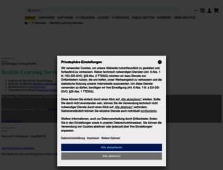 schulung.bechtle.com screenshot