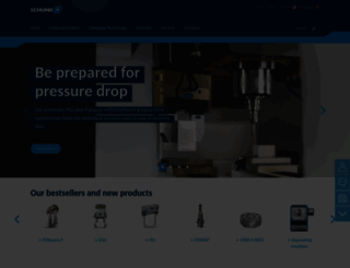 schunk.com screenshot