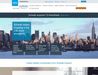 schwab-global.com screenshot