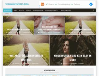 schwangerschaft-blog.at screenshot