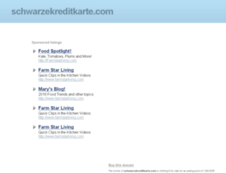 schwarzekreditkarte.com screenshot