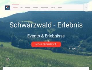 schwarzwald-erlebnis.de screenshot