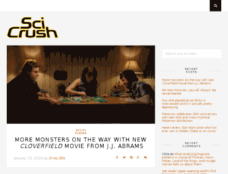 scicrush.com screenshot