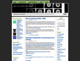 scicurious.wordpress.com screenshot