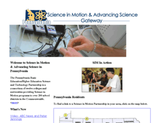 science-in-motion.org screenshot