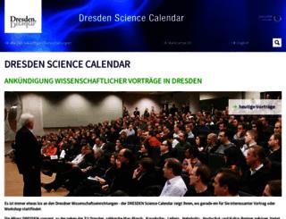 science.dresden.de screenshot