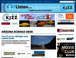 science.kjzz.org screenshot
