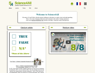 science4all.org screenshot