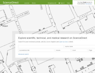sciencedirect.com screenshot