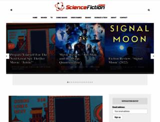 sciencefiction.com screenshot
