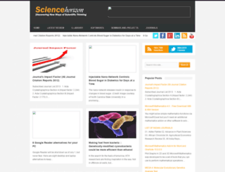 sciencehorizon.blogspot.com screenshot
