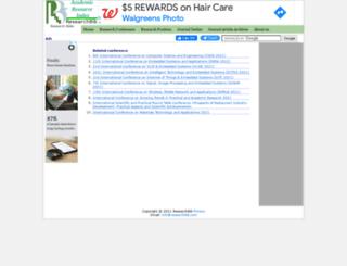 scienceindex.researchbib.com screenshot