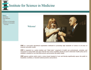 scienceinmedicine.org screenshot