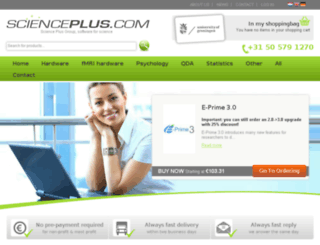 scienceplus.com screenshot