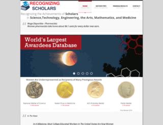 scienceprizes.org screenshot