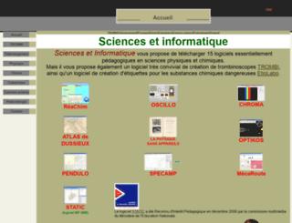 sciences-edu.net screenshot