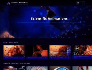 scientificanimations.com screenshot
