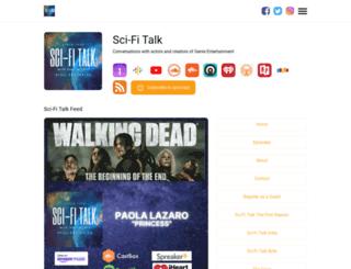 scifitalk.com screenshot