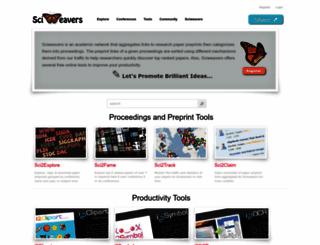 sciweavers.org screenshot