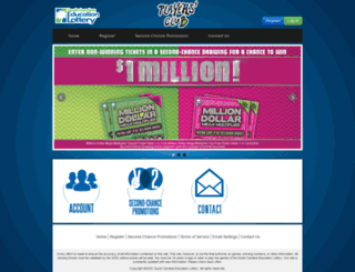 sclottery.com screenshot