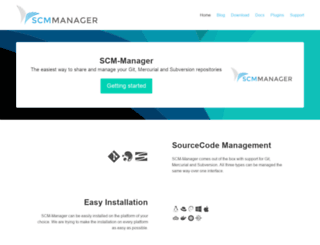 scm-manager.org screenshot