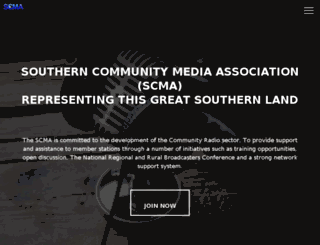 scma.org.au screenshot