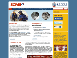 scms.pfscm.org screenshot