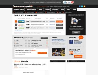 scommesse-sportive.com screenshot