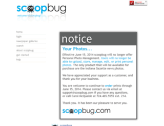 scoopbug.indianagazette.com screenshot