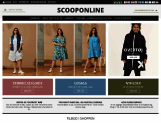 scooponline.dk screenshot