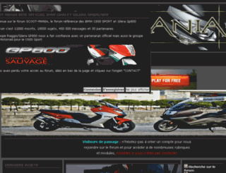 scoot-mania.com screenshot