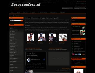 scooterdealer.nl screenshot