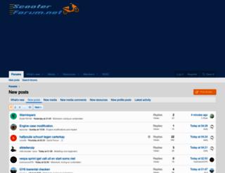 scooterforum.net screenshot
