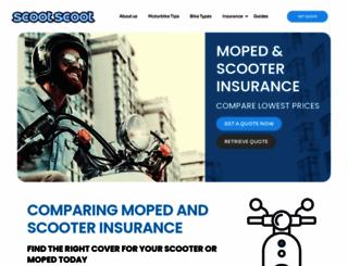 scooterinsurance.co.uk screenshot