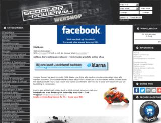 scooterpowershop.nl screenshot