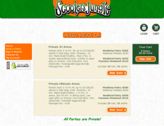scootersjunglealiso.pfestore.com screenshot