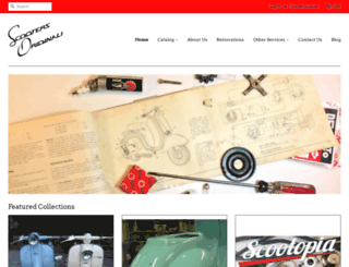 scootersoriginali.com screenshot