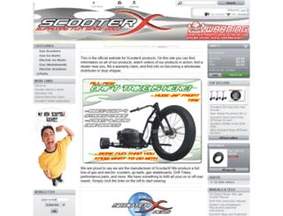scooterx.biz screenshot
