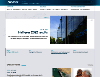 scor.com screenshot