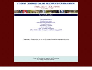 score.fdu.edu screenshot