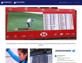 scoringsolutions.com.hk screenshot