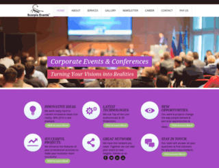 scorpioevent.com screenshot